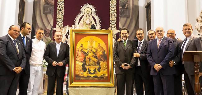 Presentación del Cartel anunciador de Coronación Canónica - autor Jose Carlos Chica