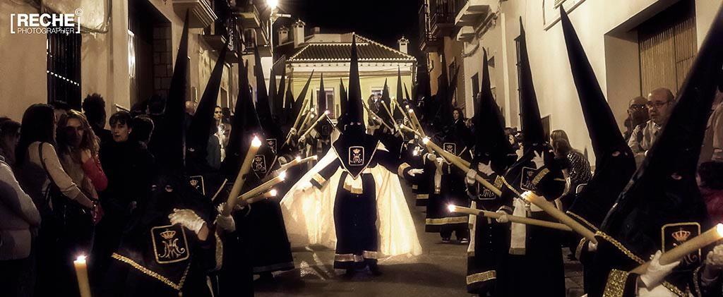 Cortejo procesional de Ntra. Sra. de las Angustias