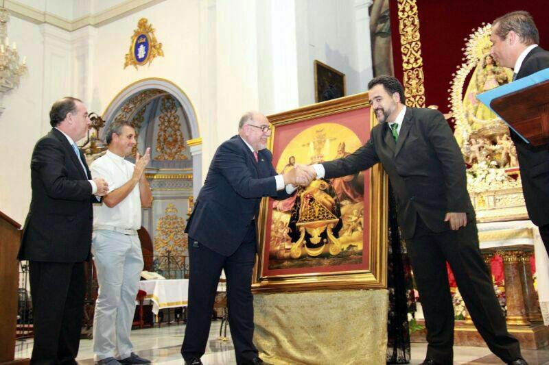 Artista veleño Jose Carlos Chica Ramos