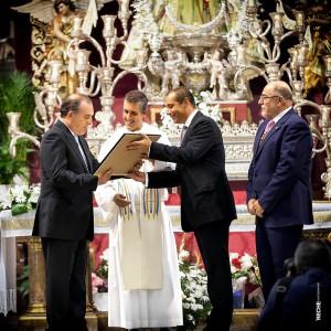 Nombramiento Padrino de Coronación - Excmo. Ayto. de Vélez-Málaga