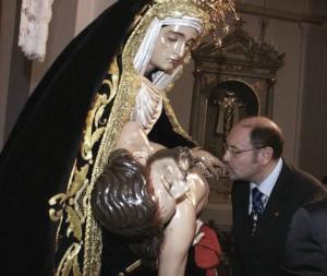 Pregonero de la Coronación Canónica de la Virgen de Ntra. Sra. de las Angustias