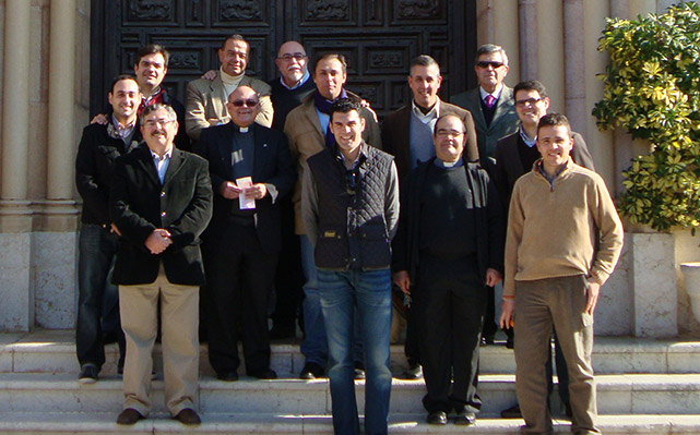 Excursión a Málaga, entrega de la 4ª beca de ayuda al estudio de un seminarista de la Diócesis de Málaga